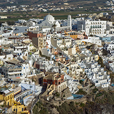 Town of Fira, Santorini, Thira,  Cyclades Islands