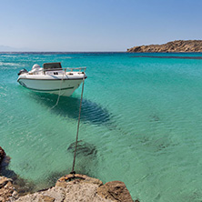 Paranga Beach on the island of Mykonos, Cyclades Islands