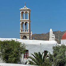 Town of Ano Mera, island of Mykonos, Cyclades Islands
