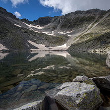 Rila Mountain, Ledenoto (Ice) lake and Musala Peak, Bulgaria