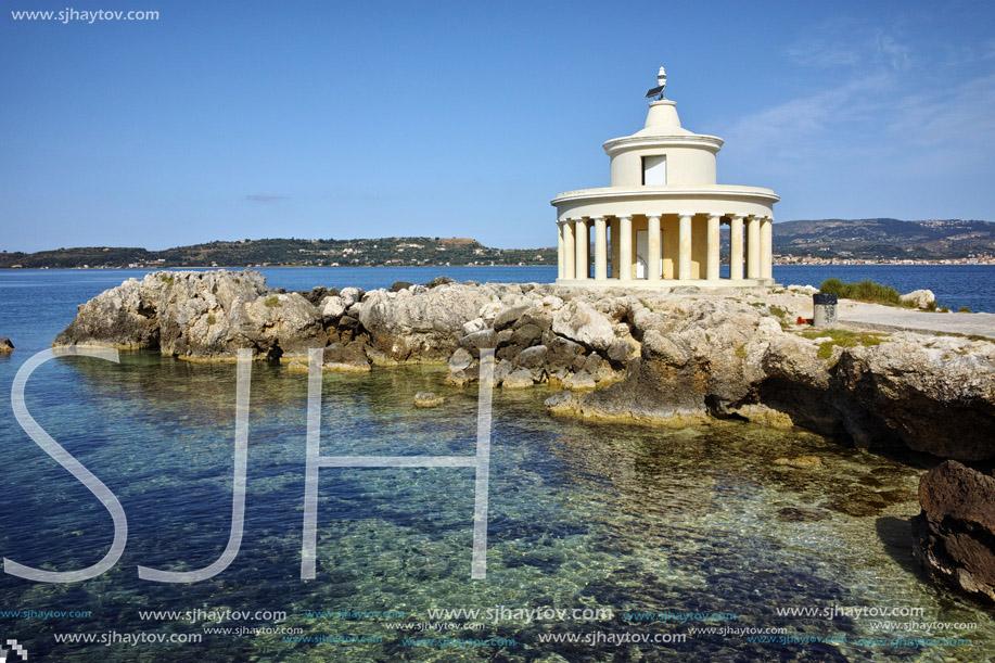 Amazing Landscape of Lighthouse of St Theodore at Argostoli