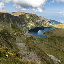 Summer view of  The Kidney Lake, Rila Mountain, The Seven Rila Lakes, Bulgaria