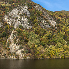 Amazing Autumn ladscape of The Krichim Reservoir, Rhodope Mountains, Plovdiv Region, Bulgaria